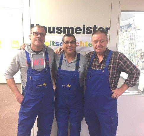 Hausmeister: M. Kerler, G. Kösterke, G. Schatz