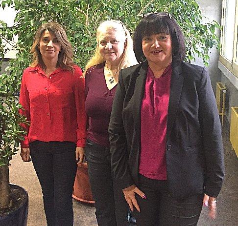 Sekretariat: Julia Hanuman, Sigrid Steuer, Simone Zäh