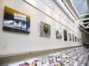 Ausstellung in der Stadtteil- und Schulbibliothek Neugereut